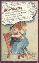 xrt015153 - Help Wanted Artist Dwig, Dwiggens, Postcard Post Cards