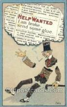 xrt015154 - Help Wanted Artist Dwig, Dwiggens, Postcard Post Cards