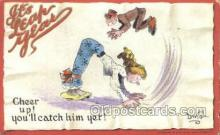 xrt015206 - It's Leap Year Artist Dwig, Dwiggens, Postcard Post Cards