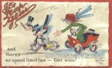 xrt015207 - It's Leap Year Artist Dwig, Dwiggens, Postcard Post Cards