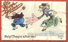 xrt015211 - It's Leap Year Artist Dwig, Dwiggens, Postcard Post Cards