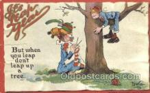 xrt015212 - It's Leap Year Artist Dwig, Dwiggens, Postcard Post Cards