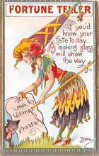 xrt015413 - Artist Signed Dwig Dwiggins Post Card