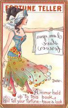 xrt015423 - Artist Signed Dwig Dwiggins Post Card