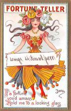 xrt015427 - Artist Signed Dwig Dwiggins Post Card