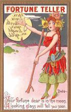 xrt015431 - Artist Signed Dwig Dwiggins Post Card