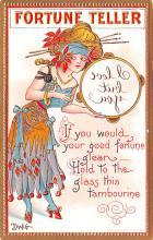 xrt015441 - Artist Signed Dwig Dwiggins Post Card