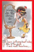 xrt015445 - Artist Signed Dwig Dwiggins Post Card