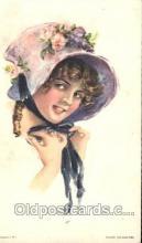 xrt018001 - Alice Luella Fidler (USA) Artist Signed Postcard Postcards