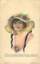 xrt018007 - Alice Luella Fidler (USA) Artist Signed Postcard Postcards