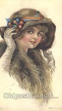 xrt018012 - Alice Luella Fidler (USA) Artist Signed Postcard Postcards