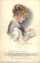 xrt018017 - Alice Luella Fidler (USA) Artist Signed Postcard Postcards