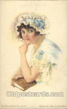 xrt018025 - Alice Luella Fidler (USA) Artist Signed Postcard Postcards