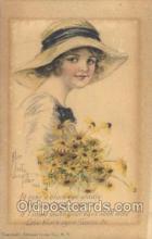xrt018031 - Alice Luella Fidler (USA) Artist Signed Postcard Postcards