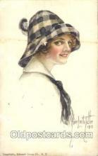 xrt018042 - Alice Luella Fidler (USA) Artist Signed Postcard Postcards