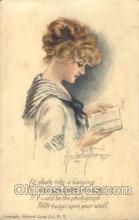 xrt018044 - Alice Luella Fidler (USA) Artist Signed Postcard Postcards