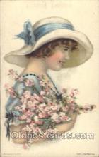 xrt018063 - Alice Luella Fidler (USA) Artist Signed Postcard Postcards