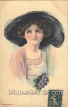 xrt018078 - Alice Luella Fidler (USA) Artist Signed Postcard Postcards