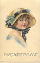 xrt018082 - Alice Luella Fidler (USA) Artist Signed Postcard Postcards