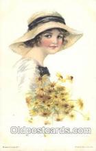 xrt018085 - Alice Luella Fidler (USA) Artist Signed Postcard Postcards