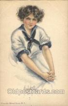xrt018097 - Alice Luella Fidler (USA) Artist Signed Postcard Postcards