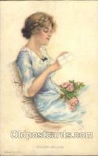 xrt020004 - Pearl Eugenia Fidler,  Artist Signed Postcard Postcards