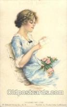 xrt020014 - Pearl Eugenia Fidler,  Artist Signed Postcard Postcards