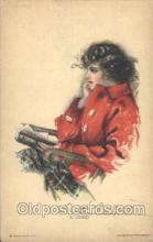 xrt020017 - Pearl Eugenia Fidler,  Artist Signed Postcard Postcards
