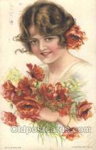 xrt020022 - Pearl Eugenia Fidler,  Artist Signed Postcard Postcards