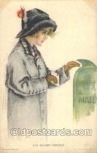 xrt020032 - Pearl Eugenia Fidler,  Artist Signed Postcard Postcards