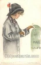 xrt020033 - Pearl Eugenia Fidler,  Artist Signed Postcard Postcards