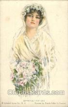 xrt020039 - Pearl Eugenia Fidler,  Artist Signed Postcard Postcards