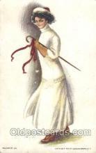 xrt020052 - Pearl Eugenia Fidler,  Artist Signed Postcard Postcards
