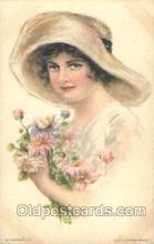 xrt020053 - Pearl Eugenia Fidler,  Artist Signed Postcard Postcards
