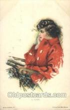 xrt020068 - Pearl Eugenia Fidler,  Artist Signed Postcard Postcards