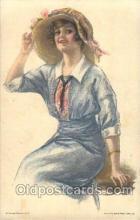 xrt020074 - Pearl Eugenia Fidler,  Artist Signed Postcard Postcards