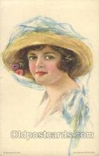 xrt020079 - Pearl Eugenia Fidler,  Artist Signed Postcard Postcards