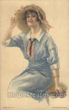 xrt020080 - Pearl Eugenia Fidler,  Artist Signed Postcard Postcards