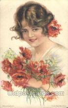 xrt020095 - Pearl Eugenia Fidler,  Artist Signed Postcard Postcards