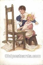 xrt022012 - Artist Signed Bessie Pease Gutmann Postcard Postcards