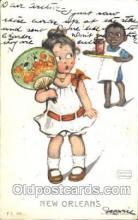 xrt022025 - Artist Signed Katharine Gassaway Postcard Postcards