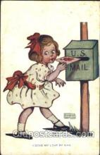 xrt022029 - Artist Signed Katharine Gassaway Postcard Postcards