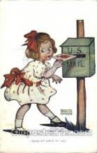 xrt022030 - Artist Signed Katharine Gassaway Postcard Postcards