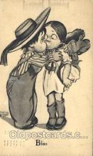 xrt022033 - Artist Signed Katharine Gassaway Postcard Postcards