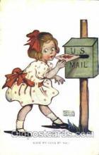 xrt022034 - Artist Signed Katharine Gassaway Postcard Postcards