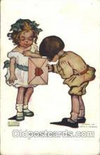 xrt022038 - Artist Signed Katharine Gassaway, Postcard Postcards