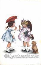 xrt022046 - Artist Signed M.M. Grimball, Postcard Postcards