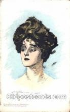 xrt023003 - Artist Signed Charles Dana Gibson, Postcard Postcards