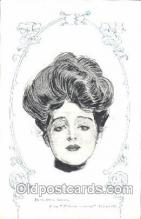 xrt023005 - Artist Signed Charles Dana Gibson, Postcard Postcards