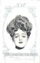 xrt023005 - Artist Signed Charles Dana Gibson, Postcard Postcards